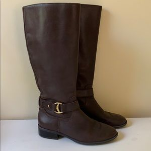 Leather Boots Like New
